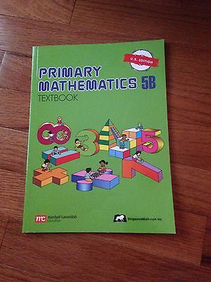 Primary Mathematics 5B Textbook by Us Edition (2003, Paperback)