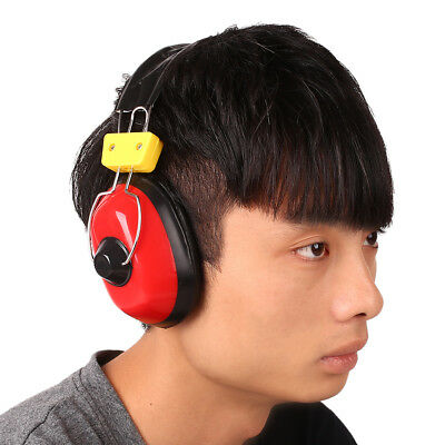 Adjustable Hearing Protection Earmuffs Noise Reduction Headband Voice Blocking