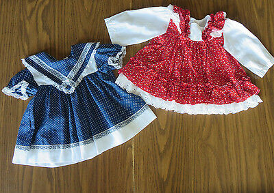 Vintage  Baby Dress Lot 9 mos.