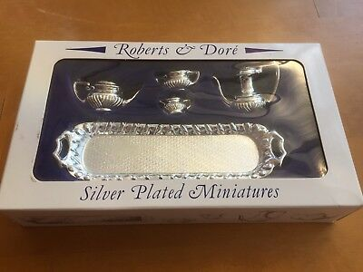 Roberts & Dore Silver Plated Miniatures Dolls House?