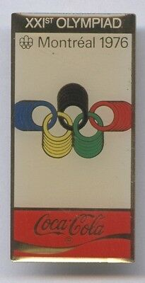 Pin    XXI.Olympic Games MONTREAL 1976 - Official Logo  !!  RARE