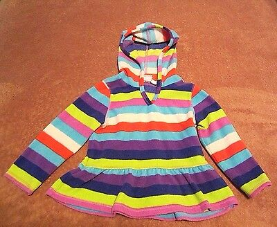 Baby Girls Toddler Children's Place Multi Color Striped Fleece Shirt Size 24M