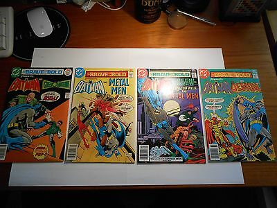 The Brave and the Bold 4 Comic Lot!!! #'s 134- 137!!! All 6.0 FN or Better!!!