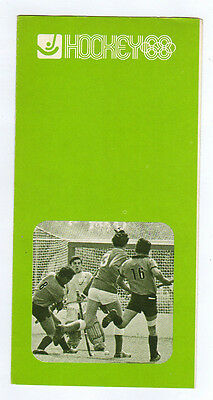 Orig.PRG / Guide   Olympic Games MEXICO 1968  -  HOCKEY  !!  VERY RARE