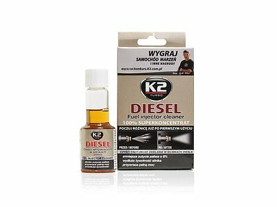 50ml DIESEL Additive Concentrated Injector Fuel Cleaner Reduce Emission - K2