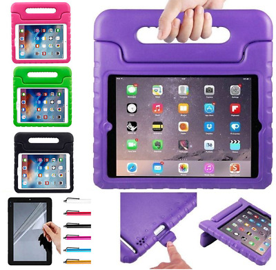 Tough Kids  EVA Shockproof Handle  Foam Case Cover For New Apple iPad 2017 9.7""