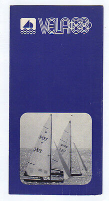 Orig.PRG / Guide   Olympic Games MEXICO 1968  -  SAILING  !!  VERY RARE