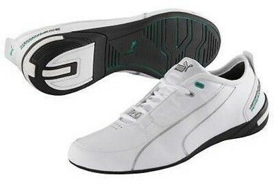 Puma Grand Cat Mercedes MAMGP Low Top Mens Sneakers 304413 01 White