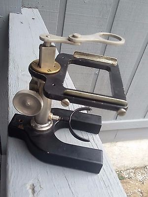 Antique Dissecting Microscope for parts or repair.