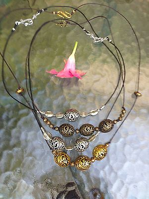 Absolutely Beautiful Antique Brass Necklace by you choice - BACK to SCHOOL