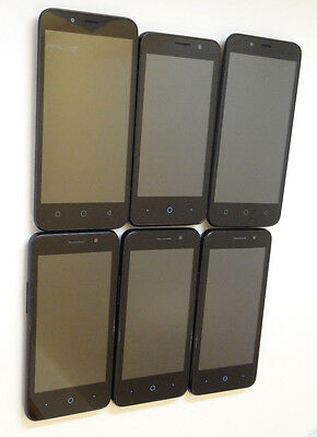 Lot of 6 Untested T-Mobile Smartphones 4 ZTE Obsidian & 2 Coolpad Catalyst AS-IS