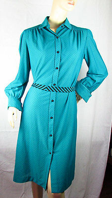 Vestito originale vintage da donna anni 70 vintage MADE IN U.S.A.