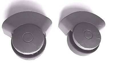 CARLTON airtec REPLACEMENT pair SUITCASE replacement SPARE wheels L&B x2 used