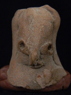 Ancient Teracotta Mother Goddess Bust Indus Valley 2000 BC No Reserve   #TR15232