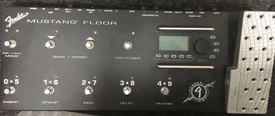 Fender Mustang Floor 2301060 Multi-Effects Guitar Effect Pedal