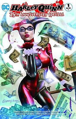 Harley Quinn 25th Anniversary Special #1 Greg Horn Exclusive Color Variant 9/13