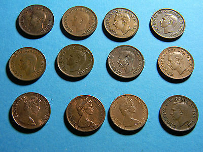 canada (12) Coin lot (lot #0199)