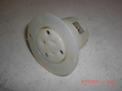 Plug  HUBBELL HBL5279C RECEPTACLE,FLANGED,2POLE,3WIRE,15A,125V,FEMALE