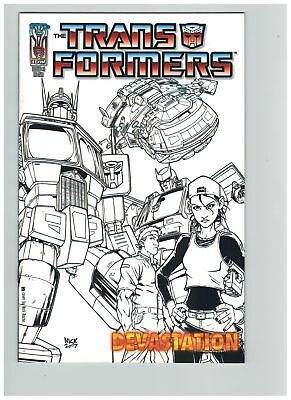 Transformers Devastation (2007) #   1 Retailer Incentive Variant Cover (9.0-VF-N
