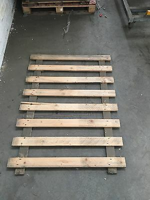 Pallet racking wooden shelves with chipboard tops