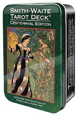 Rider Smith Waite Limited Edition Tarot Deck Cards in a TIN Wiccan Pagan
