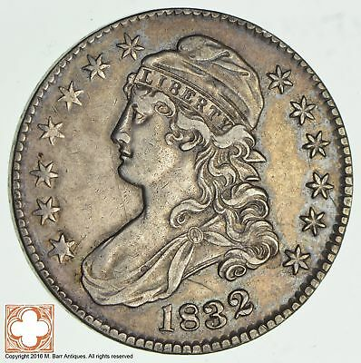 1832 Capped Busted Half Dollar *2077