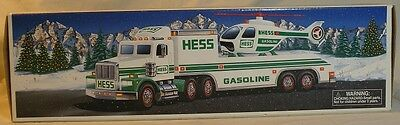 1995 Hess Toy Truck & Helicopter ~ Nib ~ Adult Collector