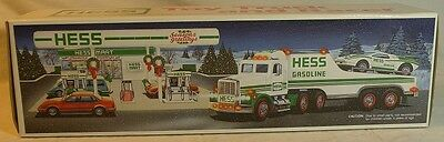 1991 Hess Toy Truck And Racer ~ Adult Collector ~