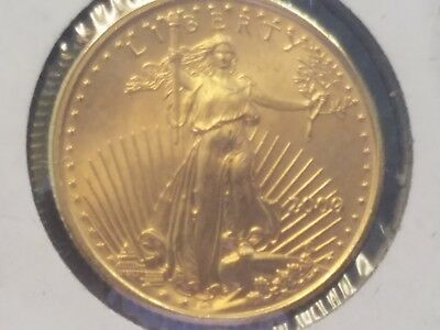 2000 1/10th oz Gold American Eagle!   Uncirculated!  Looks Great!