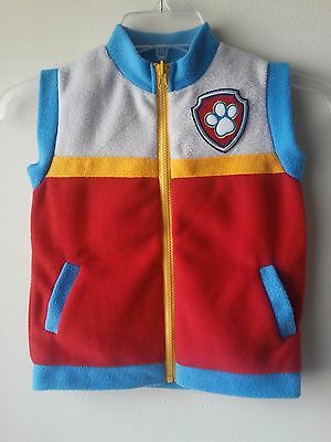 Birthday Party  Paw Patrol Ryder Vest Soft Fleece. Unisex Adult Size L Halloween