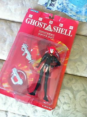 Ghost in the Shell Motoko Kusanagi White Out Figure Anime Action Art Charcters