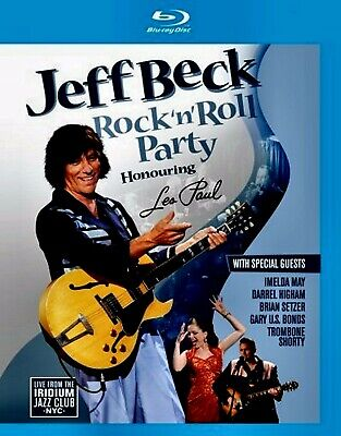 New Blu Ray - Jeff Beck - Rock N Roll Party - Les Paul Tribute - Brian Seltzer