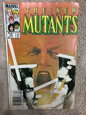 The New Mutants #26 April 1985 Marvel Comics Key Issue 1st Legion TV Show