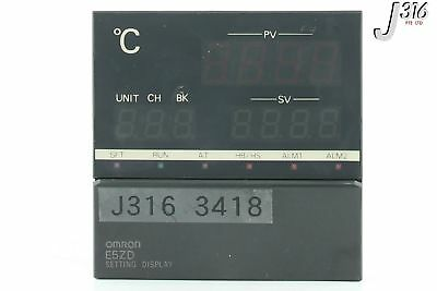 3418 Omron Setting Display E5Zd-Sdl2-X-800