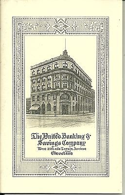 United Banking & Savings Company Booklet 1992 Cleveland  West 25th & Lorain