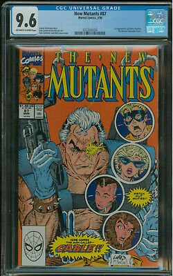 New Mutants #87 CGC 9.6 1st appearance of Cable in new Deadpool movie!