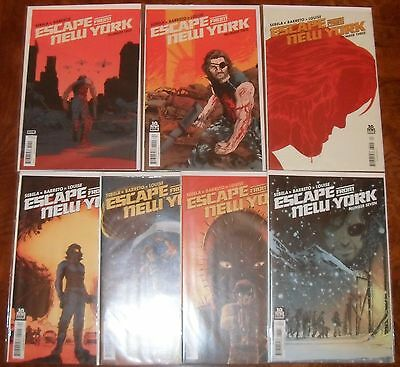 Escape From New York BOOM! Comic Lot Run 2014 1 2 3 4 5 6 7 Snake Plissken VF/NM
