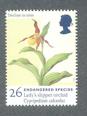 Orchid -Flowers mnh great Britain