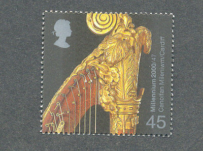 Harp-Musical instruments Great Britain mnh