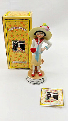 Mary Engelbreit For You Limited Edition Collectible Ceramic Figurine W Box 86-87