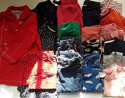 toddler baby clothes bulk lot girls 18 mth 18 items target cotton on sprout