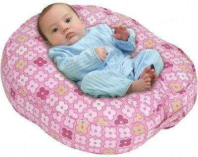 Sling Style Newborn Nursing Pillow Infant Lounger Bed Support Cozy Warm Pink New