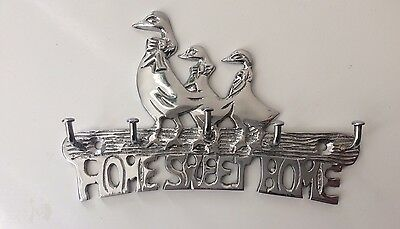 Solid Aluminium Key Rack Key Holder Home Decor Keys Racks Holders Ducks 5 Hooks