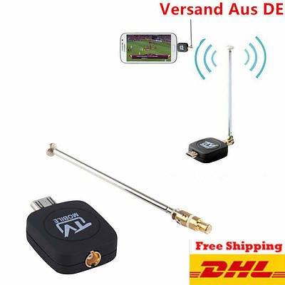DVB-T Micro USB Tuner Mobile TV Receiver Stick For Android Tablet Pad Phone BG