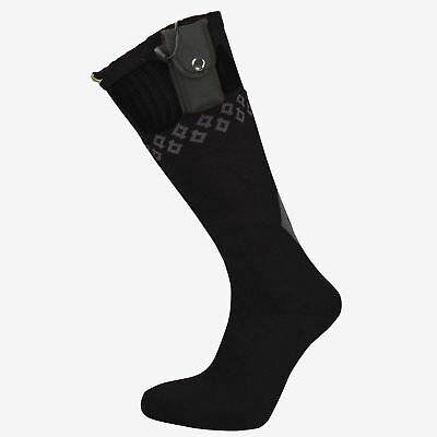 Springyard ThermoSox Battery Operated Heated Thermal Socks Black