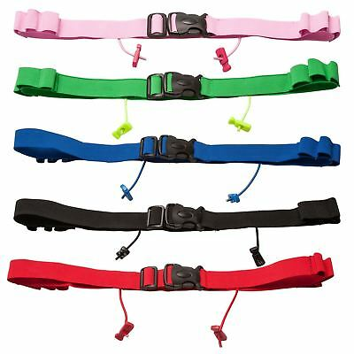 Race Belt With Gel Holders iRun Race Number Race Belt Running Triathlon