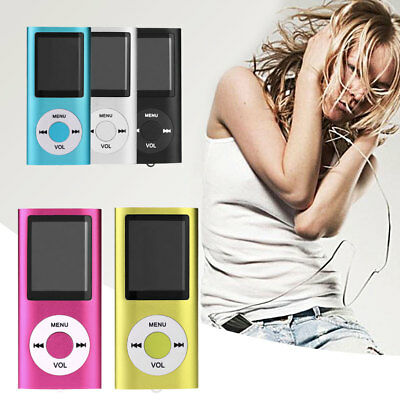 16GB 1.8'' LCD Music Movie Video Media Player MP4 with FM Radio Support TF Card