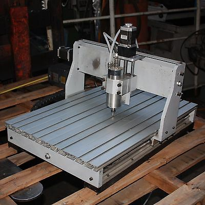 High Speed GDZ-65-800 spindle 3 axis stepper motor controlled CNC router mill