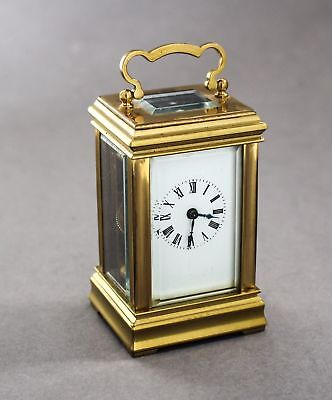 Superb Miniature Acg Carriage Clock Running Perfectly