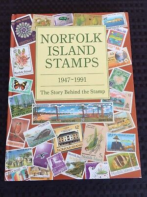 Norfolk Island Pictorial Stamp Book 1947-1991. 'The Story Behind The Stamp'